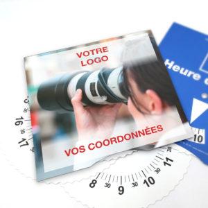Disque Zone bleue pour photographe